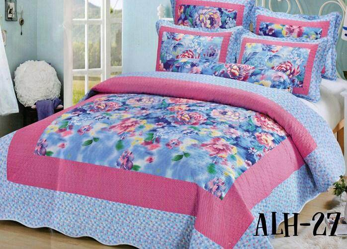 6PC SET CADAR PATCHWORK 100% COTTON (Queen n King) ALH 27