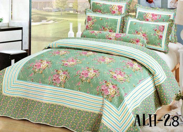 6PC SET CADAR PATCHWORK 100% COTTON (Queen n King) ALH 28