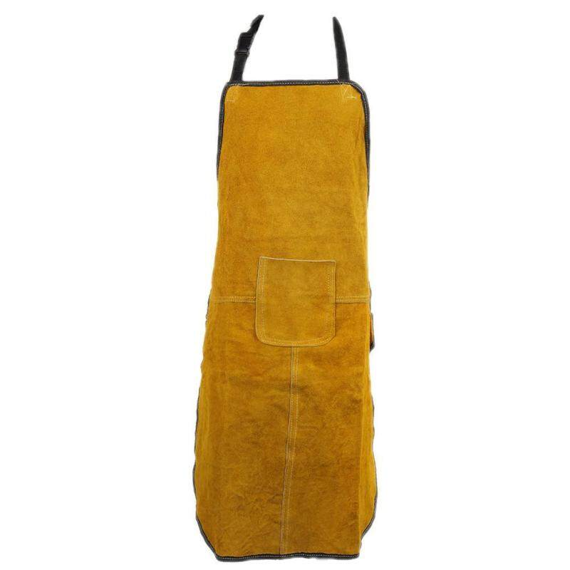 Buy 70x100cm Special Protection Workwear Argon-arc Welding Leather Apron Malaysia
