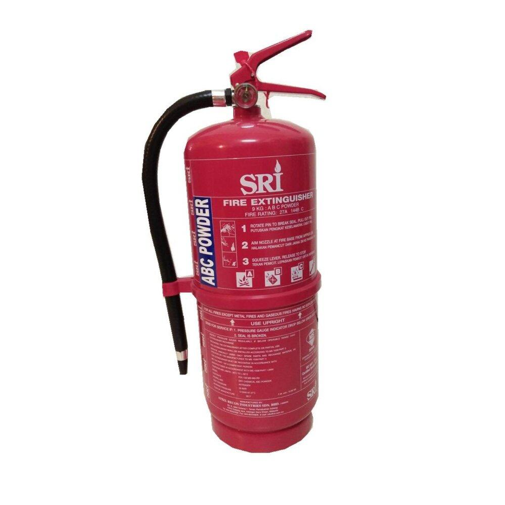 9KG ABC Powder Fire Extinguisher New For Household Rescue More Wide Area
