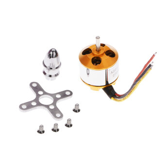 Harga A2212/5T 2700KV Brushless Outrunner Motor with Mount for AircraftAirplane Brushless Motor