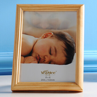 About Us minimalist Original wooden Photo Frame children Frame