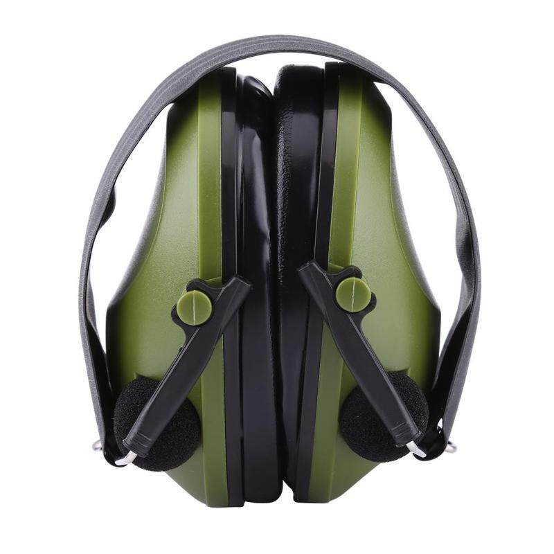 Buy Active Noise Reduction Earmuffs Headset Ear Defenders Hearing Protection (Army Green) Malaysia