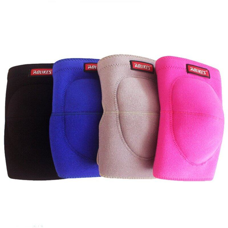 Buy Adjustable Football Volleyball Dance Knee Pads Thickened Sponge Extreme Sports Ski Kneepad Cycling Knee Support Protector 1pcs Malaysia
