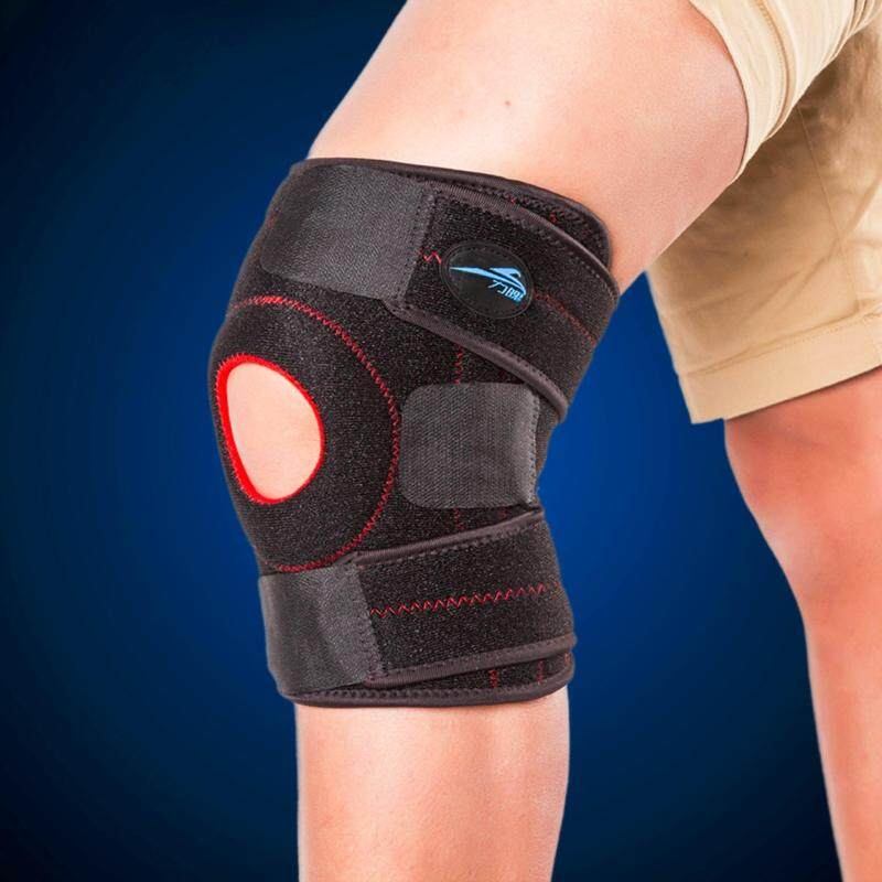 Buy Adjustable Sports Knee Brace Wrap Protector Pads Non-slip Leg Patella Guard Neoprene Elastic Kneed Pad 2 Colorl Available Malaysia
