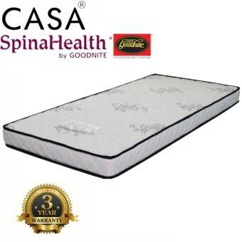 Harga Advanced Level Super Firm Goodnite SpinaHealth 5 Inch Single Ifoam mattress Only (3 year warranties)