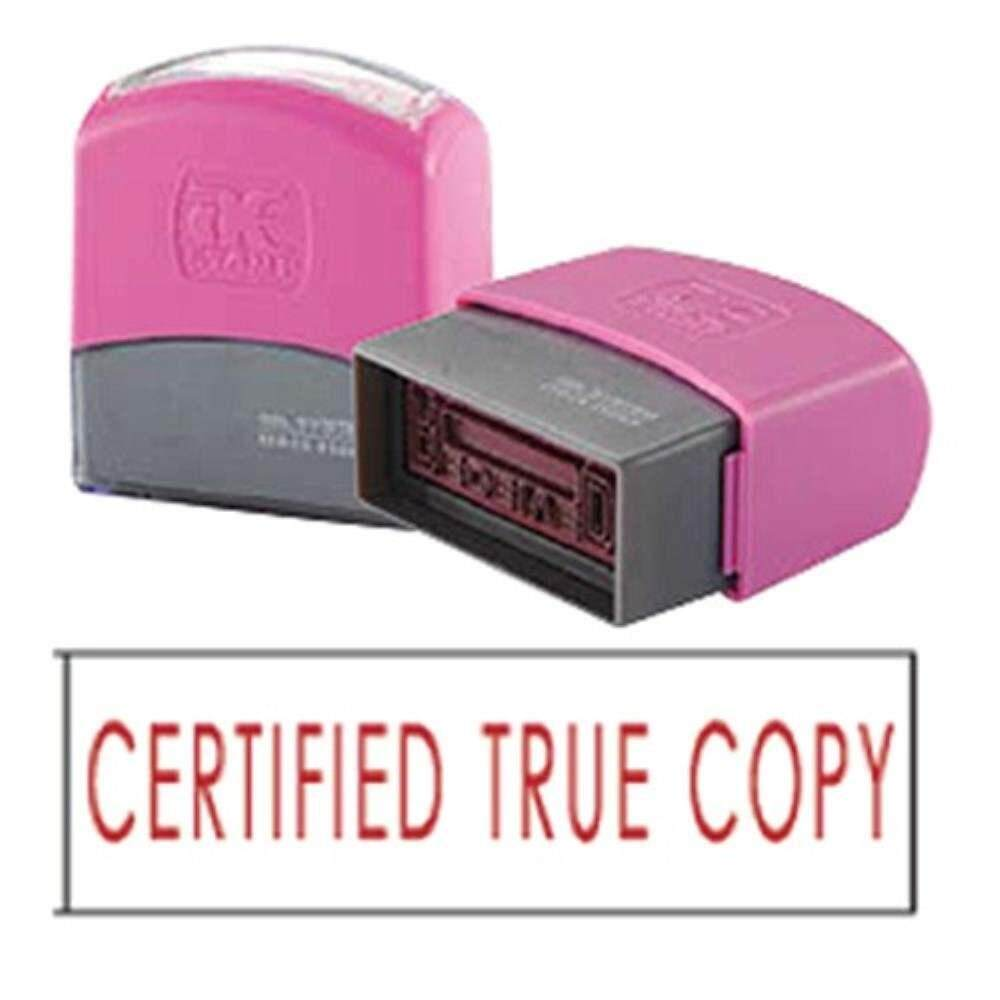 AE Flash Stamp - Certified True Copy