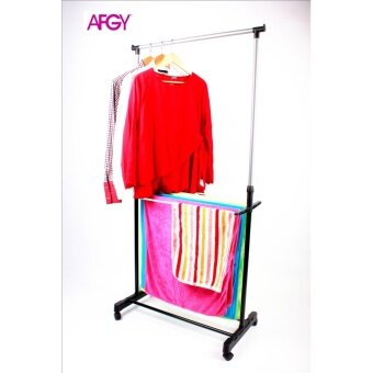 Harga AFGY FGR 243 Multiuse Garment Rack Plus Towel Rack 2 IN 1