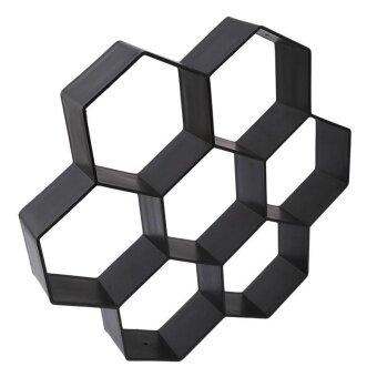Ai Home Driveway Paving Pavement Mold Patio Concrete Stepping StonePath Walk Maker (Black) - 4