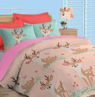 Akemi Fantasia Queen Fitted Sheet Set (Little Dear)