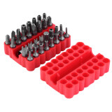 Spesifikasi Allwin 33 Pcs 1 4 Magnetic Hollow Obeng Set Torx Slotted With Merah Cover Case Merk Not Specified