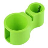 Beli Allwin Ganda Ukuran Pita Spiral Pengiris Pemotong Mie Spiralizer Berguna Alat Dapur Hijau Cicilan