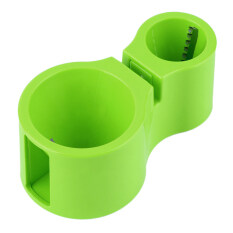 Promo Allwin Ganda Ukuran Pita Spiral Pengiris Pemotong Mie Spiralizer Berguna Alat Dapur Hijau Di Tiongkok