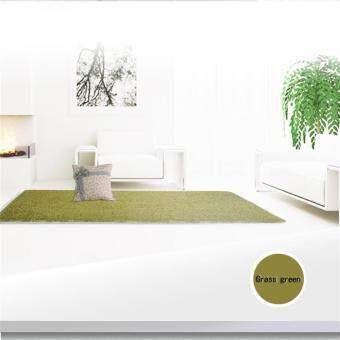 Allwin Rumah Baru Ruang Tamu Kamar Tidur Karpet Antislip Ramus Area Karpet Tikar Hijau