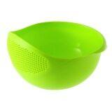 Toko Jual Baru Plastik Praktis Cuci Beras Saringan Saringan Alat Dapur Hijau Allwin
