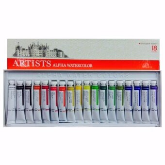 Alpha Artists Watercolour (18 Colours Set) / Artists Alpha Watercolor