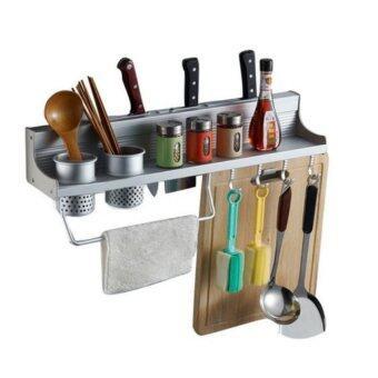 Aluminium Kitchen Storage Rack Knife Rest Cm Lazada Malaysia - Kitchen storage racks shelves