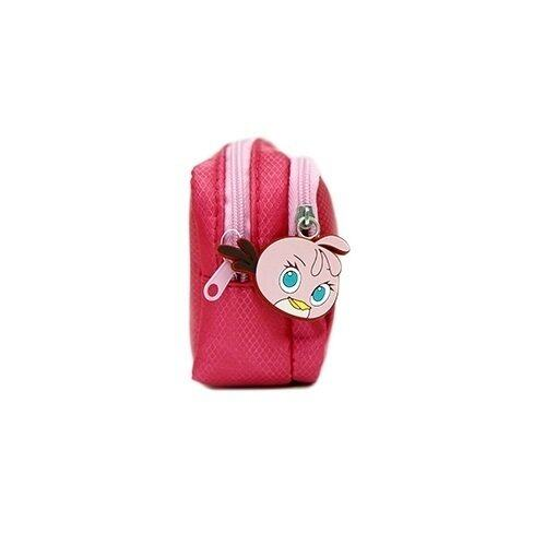 Angry Birds Stella Square Pencil Bag - Pink colour