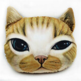 Animal Themed Throw Pillow - Cat Design E