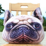 Animal Themed Throw Pillow - Dog Design B