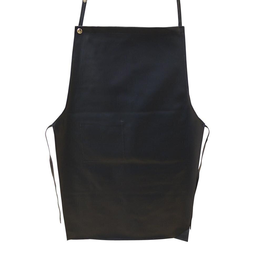 Apron Artificial Leather Blue [9012]