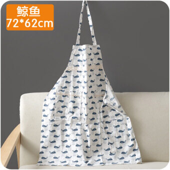 Harga Are ancient animal sleeveless waterproof anti-dirty anti-oil Linenapron