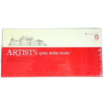 Harga Artists Alpha Watercolor 7.5ml WA2201 (13 Color)