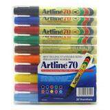 Artline 70 Marker Pen 10 Colours Set Color Set