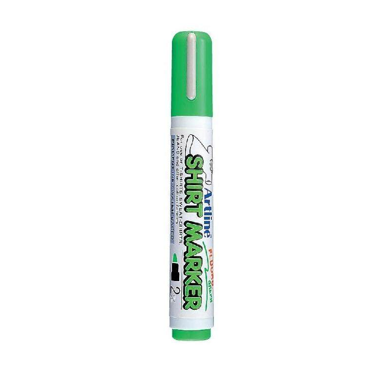 ARTLINE T-SHIRT MARKER EKT-2 FL.GREEN  ISBN: 4974052810695