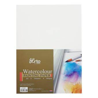 Harga Arto Watercolour A4 Painting Paper 300gsm/10pcs