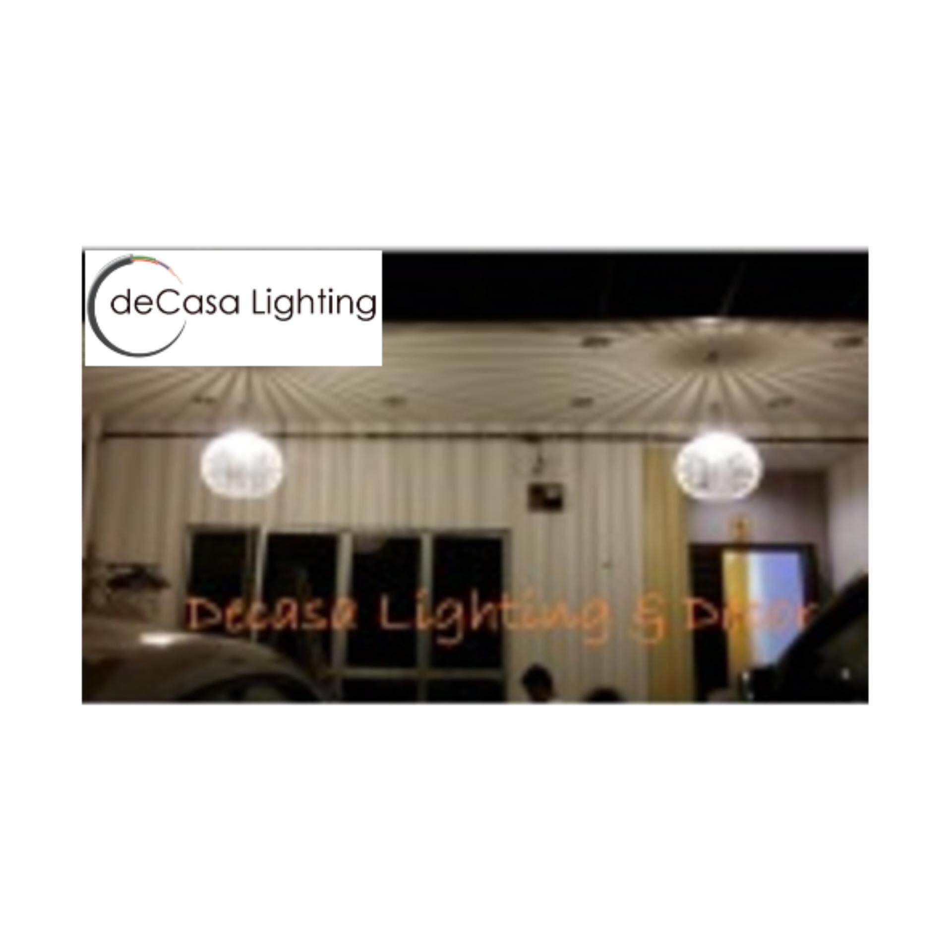 Attractive Ceiling Light Black Decorative Loft Light Pendant Light Special Light DECASA S-SIZE (Black) (JL-9006-230-BK)