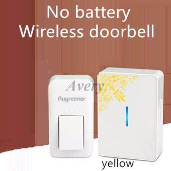 Augreener E2 Economic and Reliable Self Powered door bell NO NEEDBATTERY! Wireless Doorbells