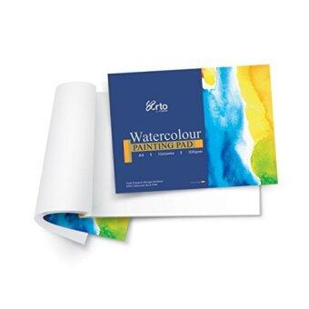 B4 12s WATERCOLOR PAPER PAD (100% CELLULOSE) 200 GSM