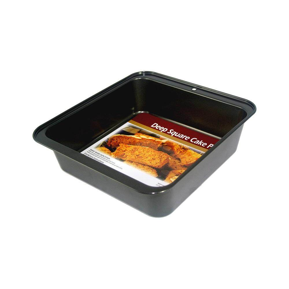 BAKECRAFT Deep Square Cake Pan Non-Stick - 8 inch