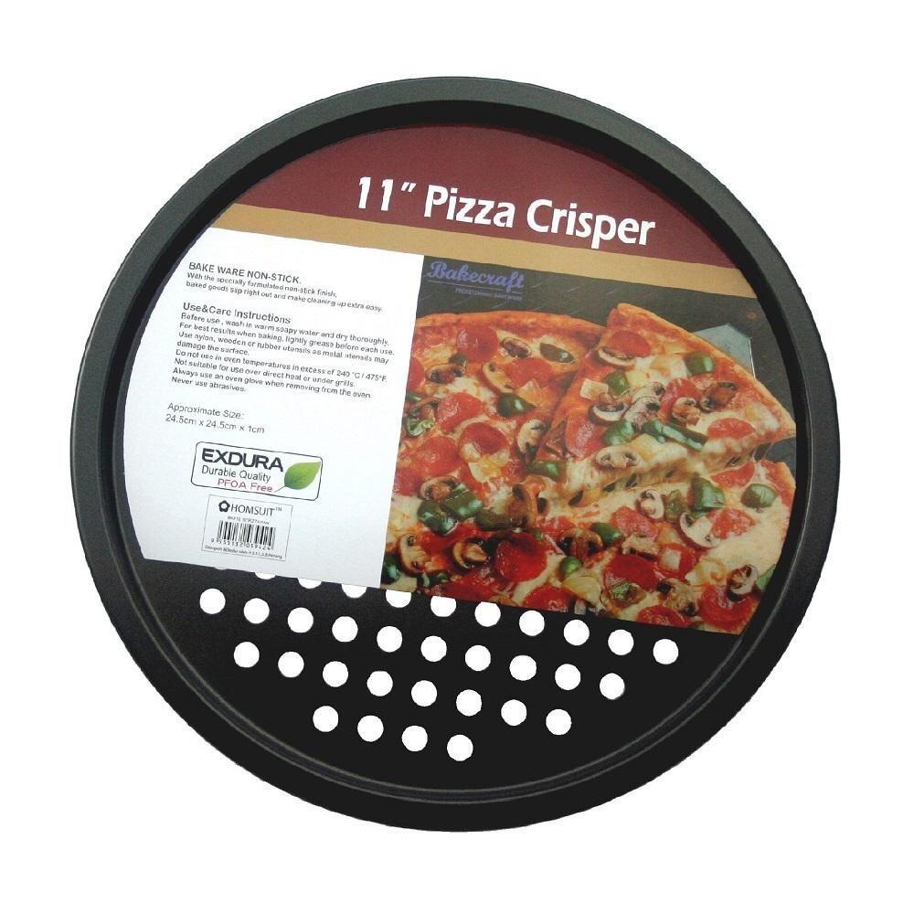 BAKECRAFT Perforated Pizza Crisper Non-Stick - 11 inch