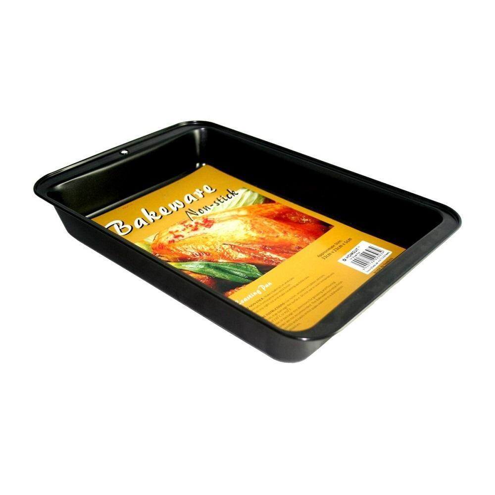 BAKECRAFT Roasting Pan Non-Stick - 11 inch
