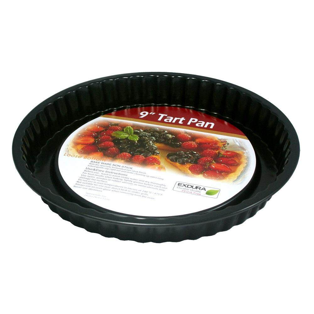 BAKECRAFT Tart Pan Non-Stick 9 inch