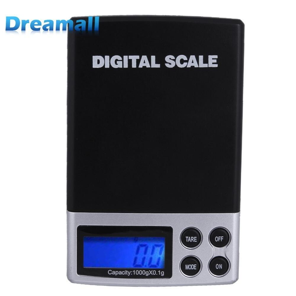 Balance Gram Scale Digital Weight Milligram Scale Jewelry 1000g/0.1g - intl