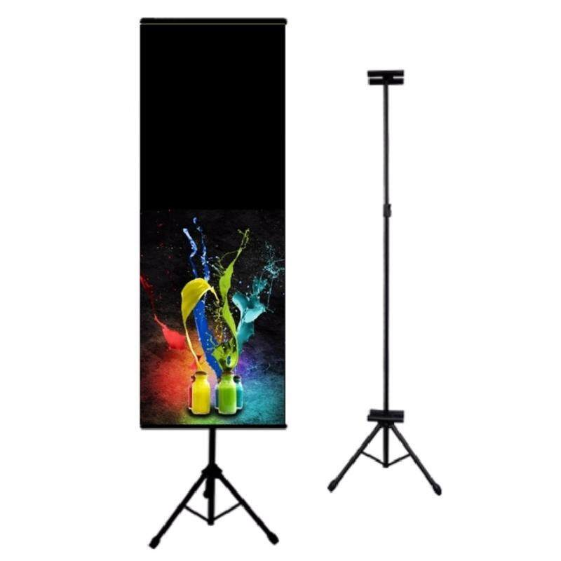 Buy Banner Bunting Advertisement Tripod Stand Adjustable with double sided clip Malaysia