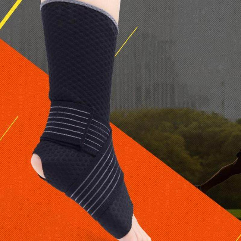 Basketball injury protection ligament ankle brace climbing mountaineering bandages sports ankle - keeping supplies (Size:M) A11YDHJ0696