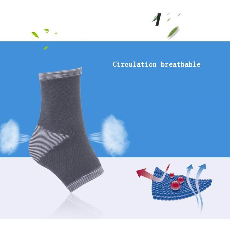 Basketball outdoor sports knit ankle sweat breathable ankle wrist protection (Size:M) A11YDHJ0735