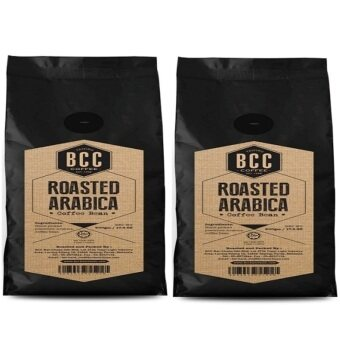 BCC Roasted Arabica Coffee Bean 500gm (2 Packs) + FREE 2 pack of Drip Coffee