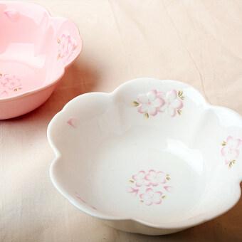 Beautiful cherry ceramic bowl