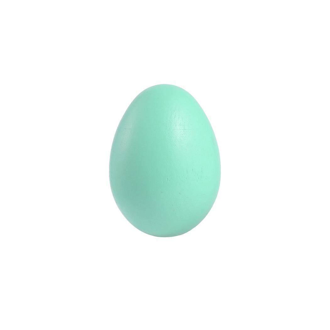 Terbaik Seller Sunwonder Baru Simulasi Telur Paskah Kayu Mainan Lukisan Telur Mainan Mainan Anak-anak DIY-Internasional