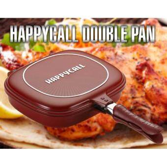Bliss Happy Call Deep Duplex pan 32cm / oven effect / double sidedpan / Non-stick / Made in korea / kitchen cook / Cook ware /Kitchen & dining (As Seen On TV)