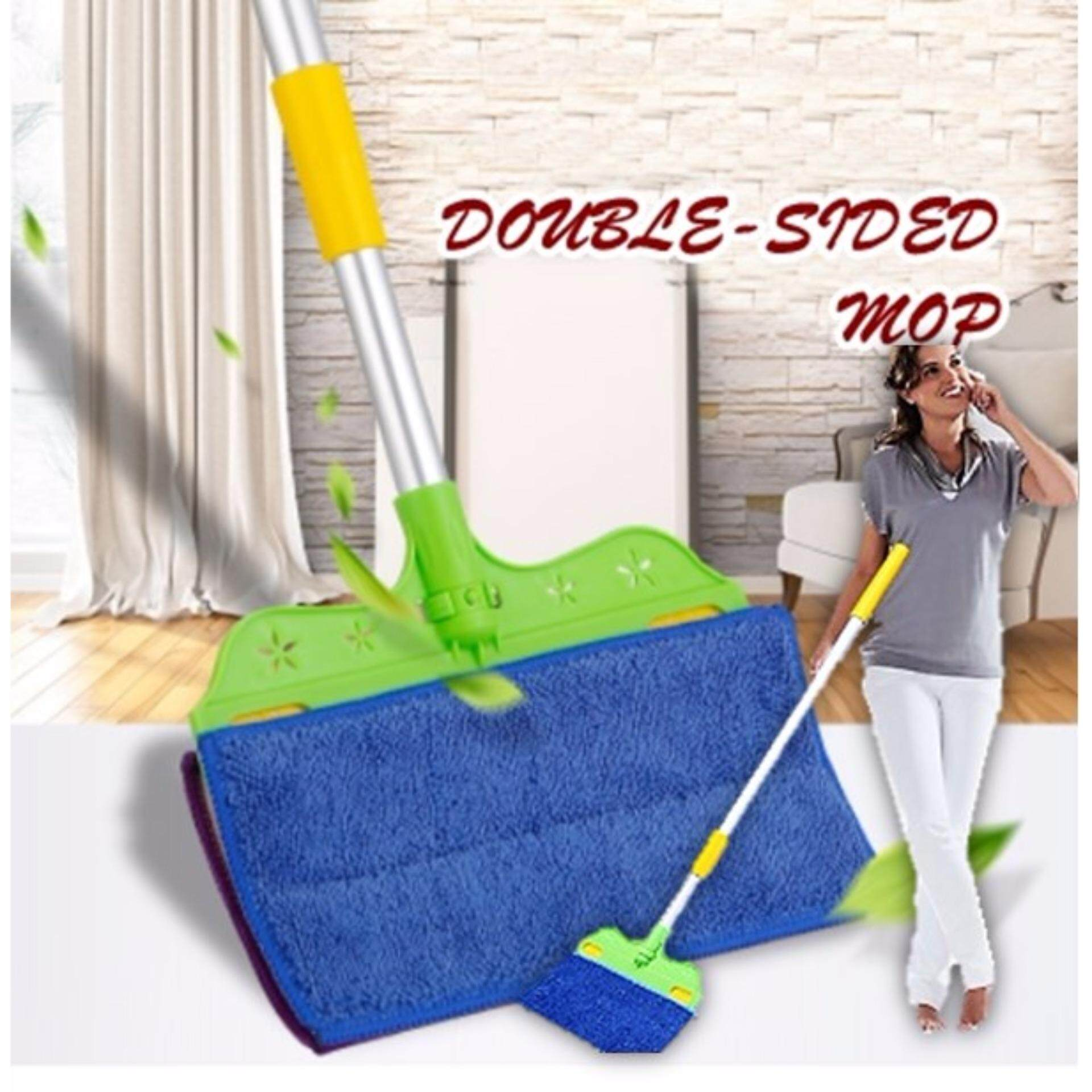 Korean Double side cleaning multifunctional household double-sided mop the floor
