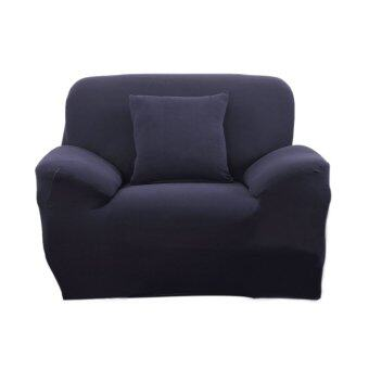 BolehDeals Spandex Stretch Single Sofa Couch Seat Cover Slipcover Case Home Decor Navy