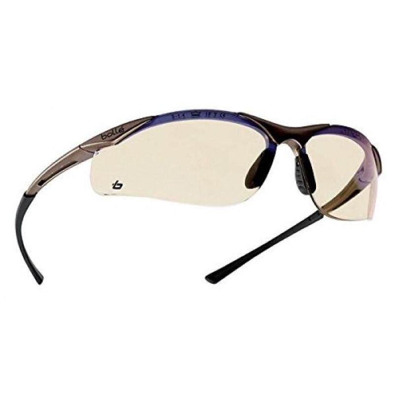 Buy Bollé Safety 253-CT-40047 Contour Safety Eyewear with Semi-Rimless Nylon Frame and ESP Tinted Anti-Fog Lens Malaysia