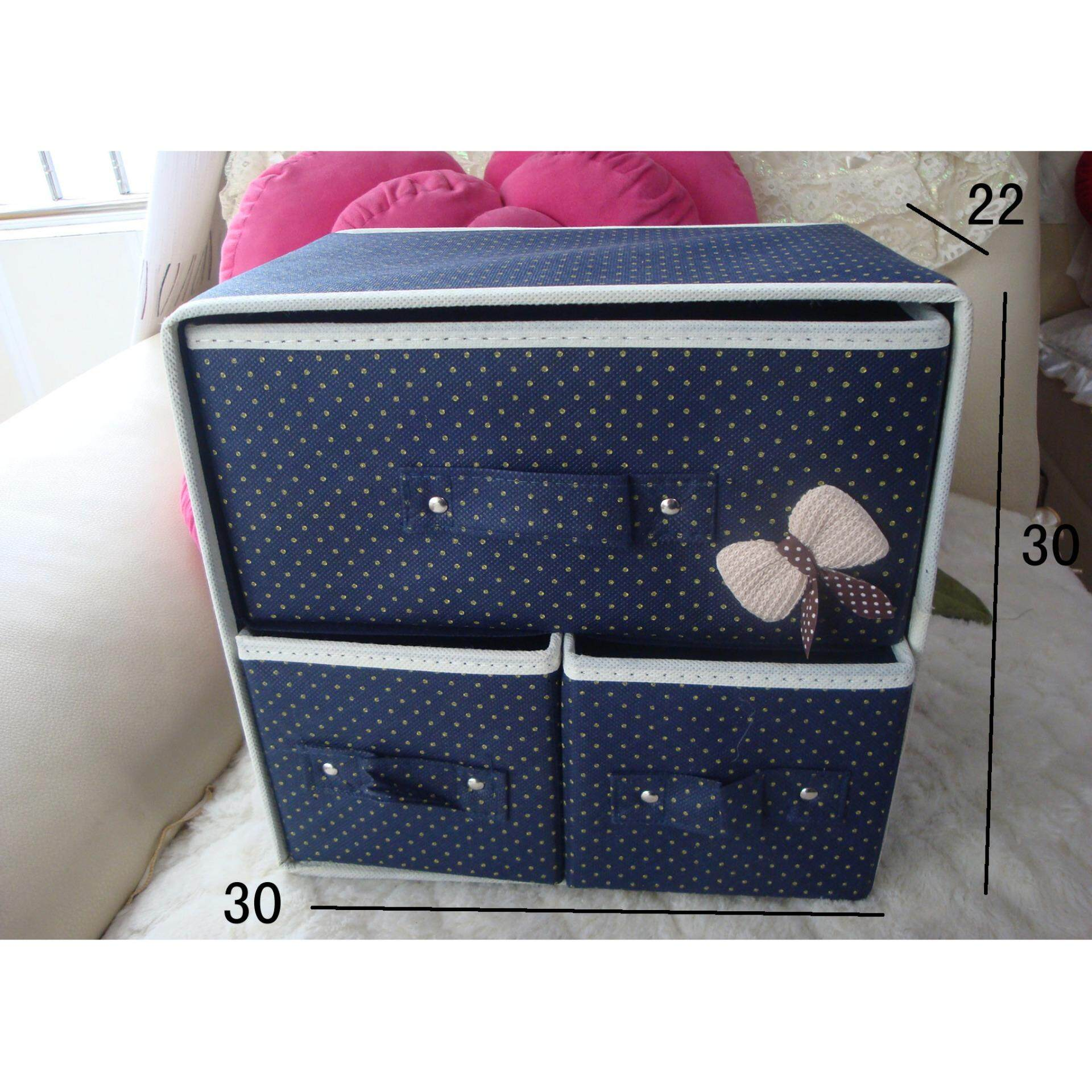 Bolster Store Multipurpose Storage Clothes Toys Storage Box with Drawer