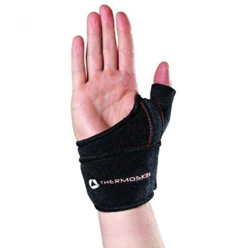 Buy [boran]Thermoskin Thumb CMC Right Wrist Wrap, Black, Small and Medium Malaysia